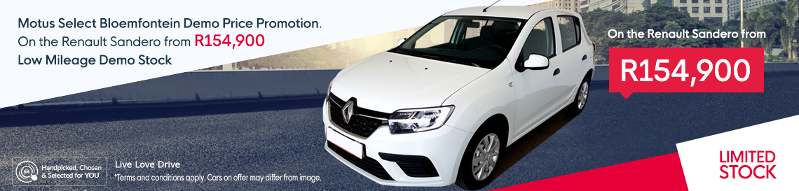 Renault Sandero Filtered Page Campaign