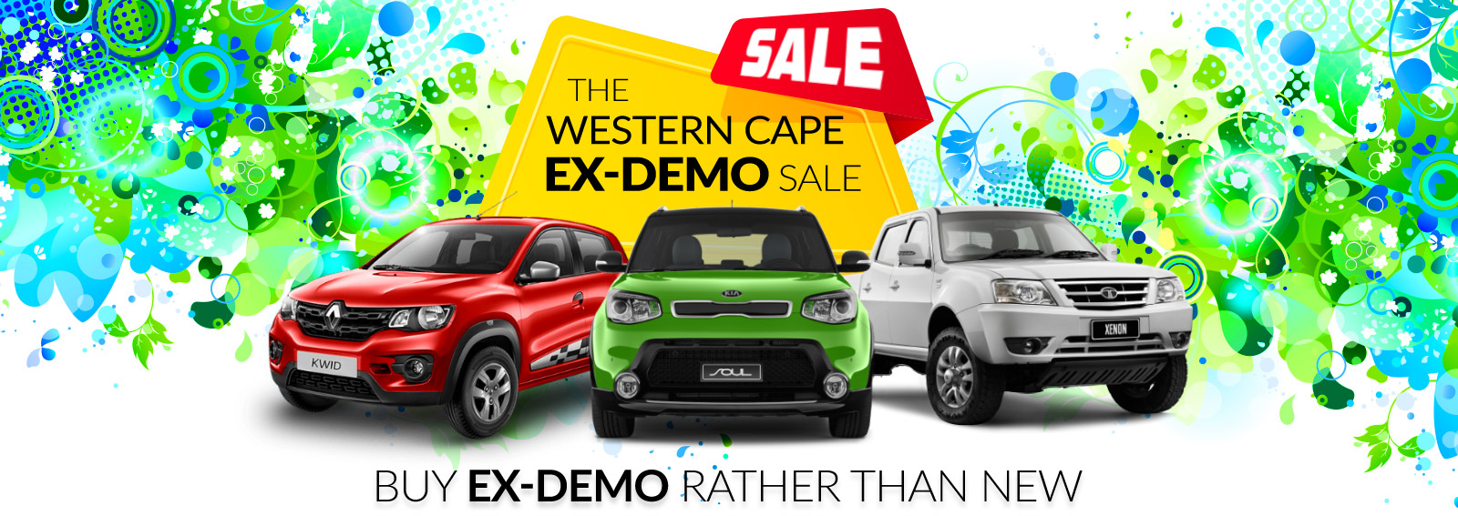 The Western Cape Ex-Demo Sale - KIA, Renault and TATA deals