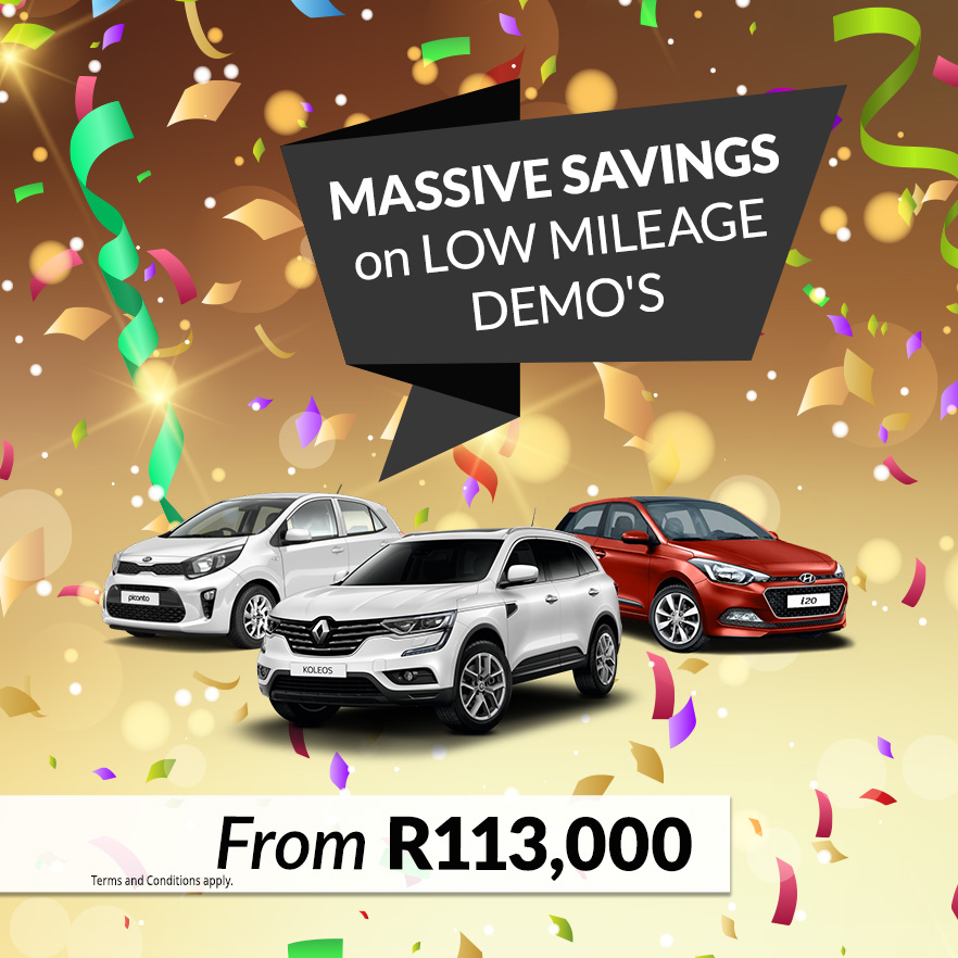 Demo Cars for Sale | Second-Hand Demo Cars | Demo Vehicles