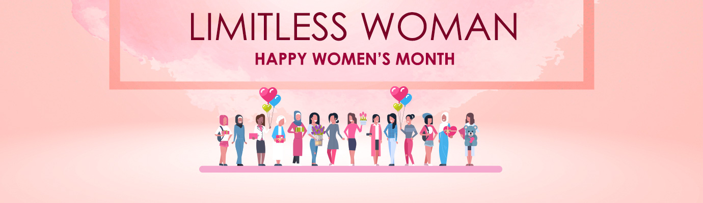 Limitless Woman Happy Women's Month
