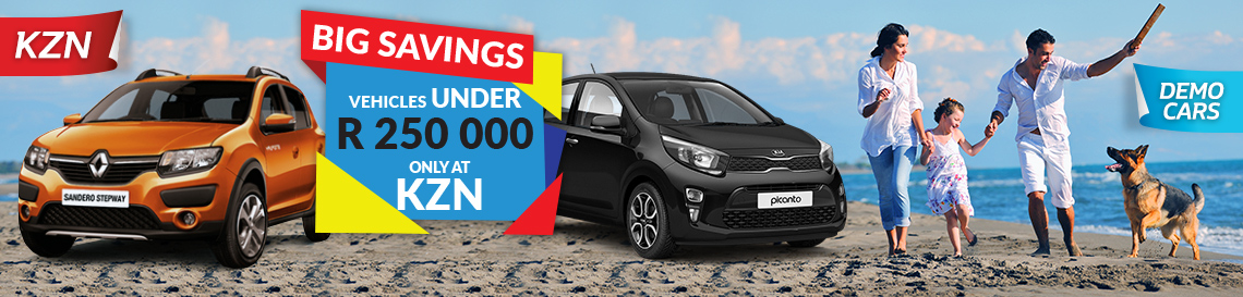 The KZN Big Demo Savings Sale - All cars under R250k