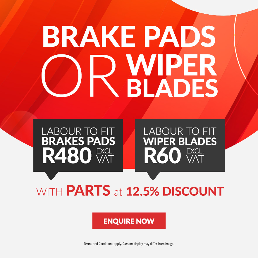 Go for Genuine Brake Pads or Wiper blades