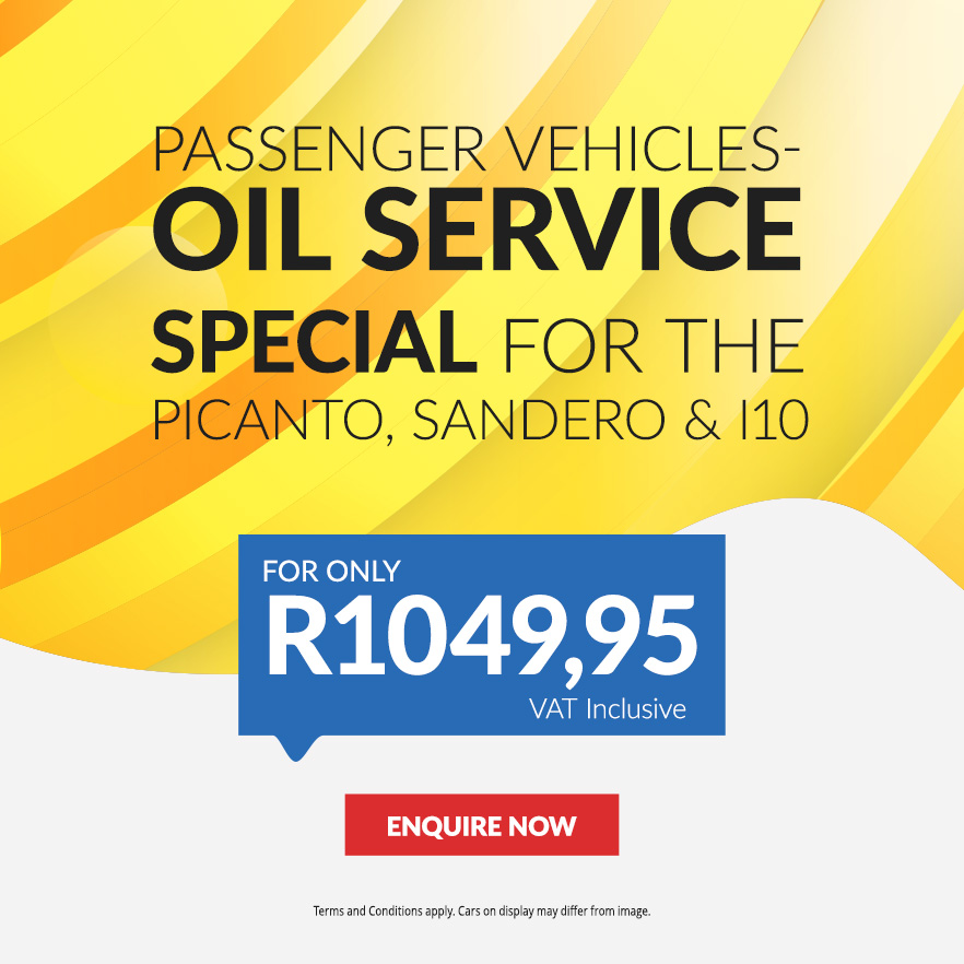 Passenger Vehicles Oil Service