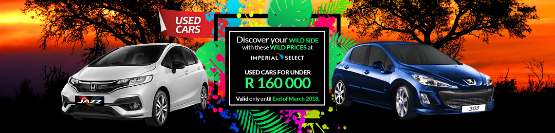 Discover your wild side with prices below R160,000